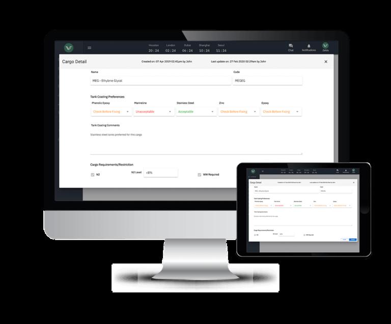 cargo database