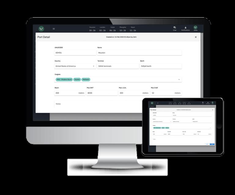 port database 2